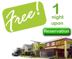 Get a 1 night free accommodation at The Enclave Villa upon reservation of unit