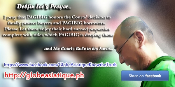 Delfin Lee's Prayer...and the Courts Rule in his Favor